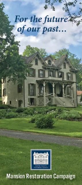 For the future of our past... Mansion Restoration Campaign